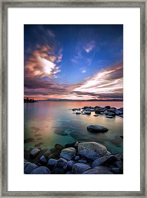 Tranquil Waters Framed Print by Steve Baranek