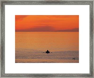 Tranquililty Framed Print