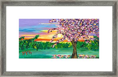 Tranquilitree  Framed Print by Jessilyn Park