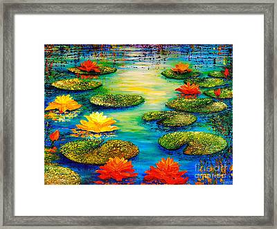 Tranquility 3 Framed Print