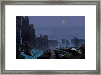 Tranquility 6 Framed Print by Valeriy Mavlo