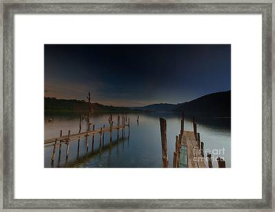 Tranquility At Atitlan Framed Print