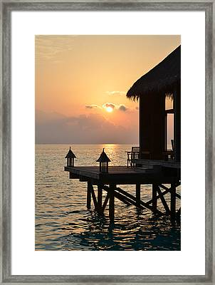 Tranquility Framed Print by Corinne Rhode