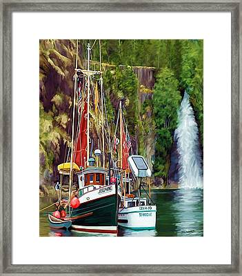 Tranquility Framed Print by David Wagner