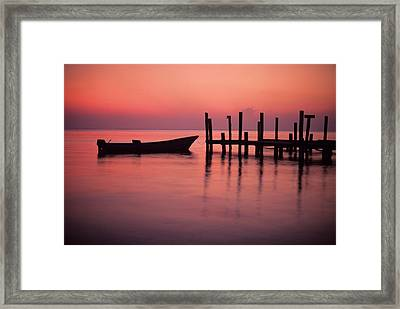 Tranquility Framed Print by Don Kreuter