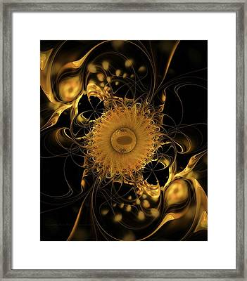 Tranquility Exists Within Framed Print by Gayle Odsather