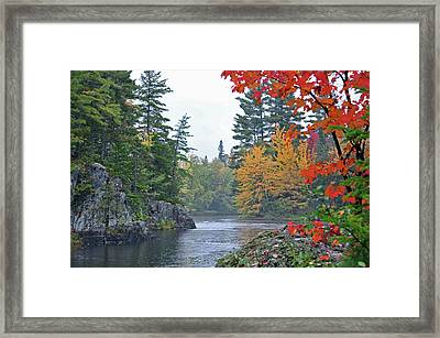 Autumn Tranquility Framed Print by Glenn Gordon