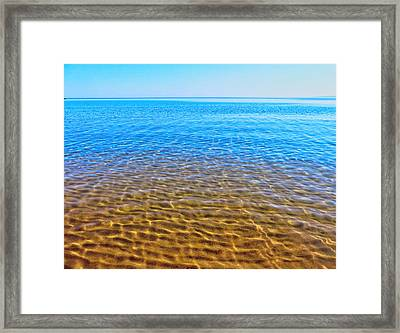 Framed Print featuring the photograph Tranquility by Kathleen Sartoris