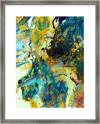 Tranquility Man #307 Framed Print by Donald k Hall