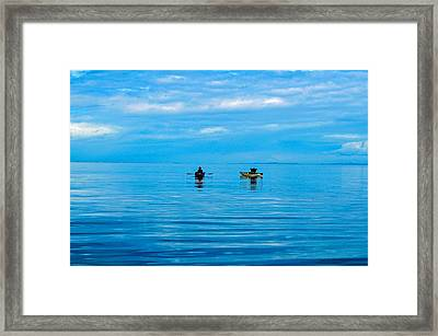 Tranquility Framed Print by Michael Potts