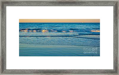 Framed Print featuring the photograph Tranquility by Michelle Wiarda