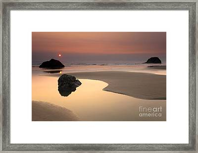 Tranquility Framed Print by Mike  Dawson