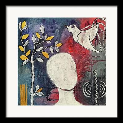 Inner Harmony Framed Prints