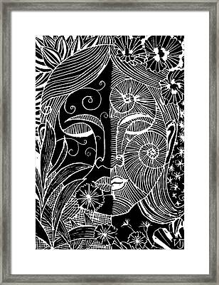 Tranquility Framed Print by Natasha Junmanee