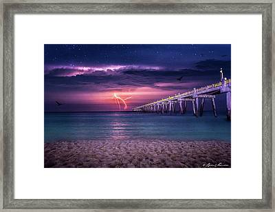 Tranquility- Pensacola Beach Framed Print by Brent Shavnore