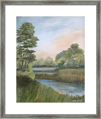 Tranquility Framed Print by Shirley Lawing