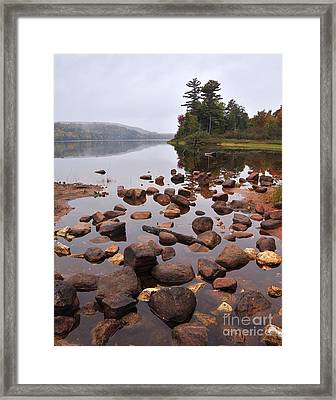 Tranquility Framed Print by Terri Gostola
