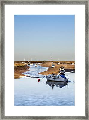 Tranquility - Wells Next The Sea Norfolk Framed Print
