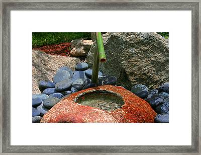 Framed Print featuring the photograph Tranquility1 by Charles Warren