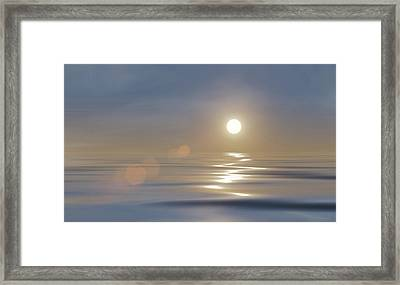 Tranquillity Framed Print by Wim Lanclus