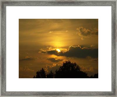 Framed Print featuring the photograph Tranquilty by Robin Coaker