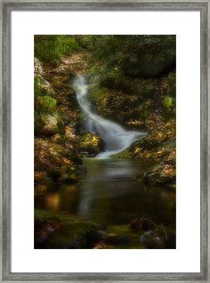 Framed Print featuring the photograph Tranquility by Ellen Heaverlo