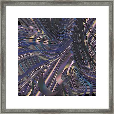 Transactional Interpretation Framed Print by Michele Caporaso