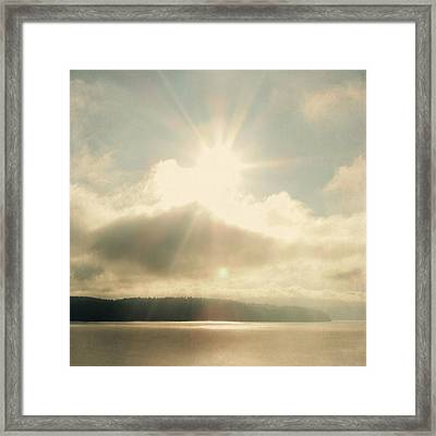 Framed Print featuring the photograph Transcend by Sally Banfill