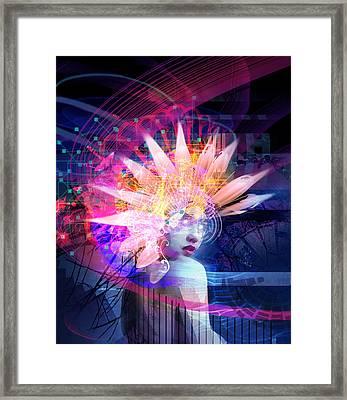 Transcendance Framed Print by Philip Straub