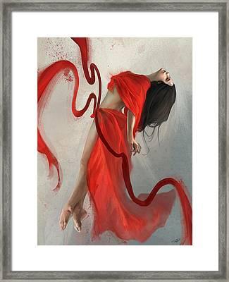 Transcended Framed Print