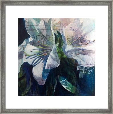 Transcendence - Azalea Framed Print by Trish McKinney