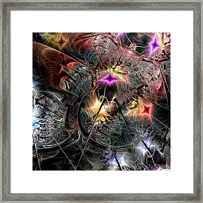 Transcendence In Retrograde Framed Print