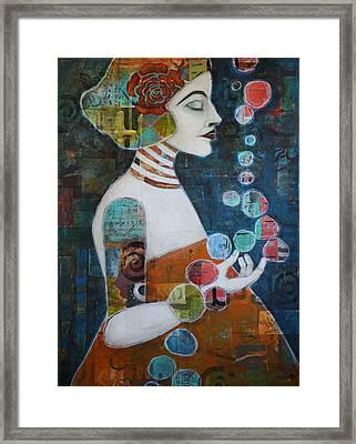Transcendence Framed Print by Jane Spakowsky
