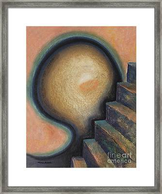 Framed Print featuring the painting Transcendence by Mini Arora