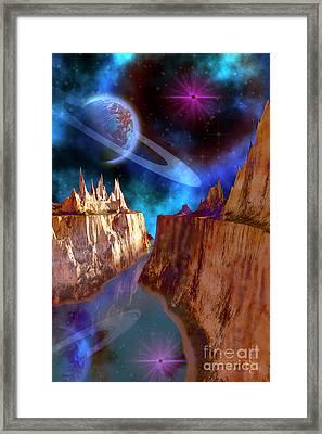 Transcendent Framed Print by Corey Ford