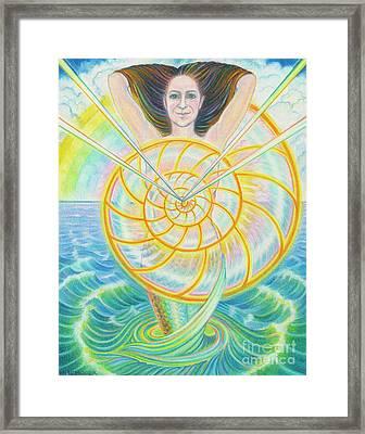 Transcendent Soul Framed Print