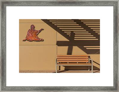 Transcendental Framed Print by Paul Wear