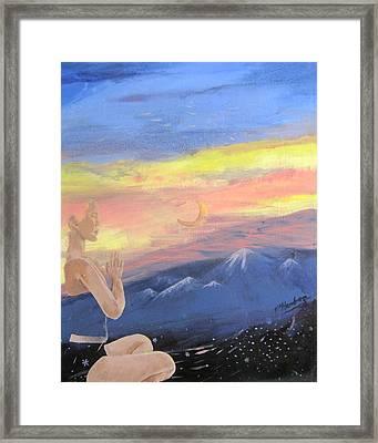 Transcendental Framed Print by Penfield Hondros