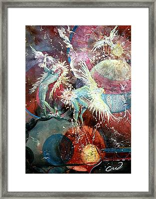 Transcending Indian Spirits Framed Print by Connie Williams