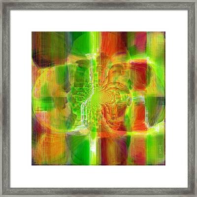 Transcending Inspiration Framed Print by Fania Simon