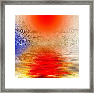 Transcending Spiritual Light Framed Print by Madeline  Allen - SmudgeArt