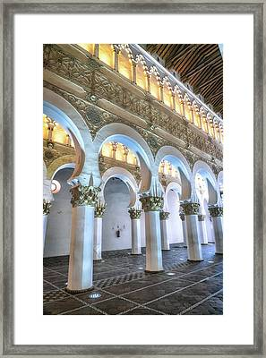 Transcept Framed Print