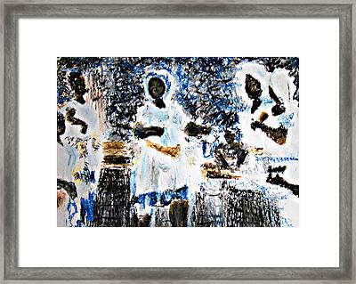 Transes Framed Print by Isabelle Mbore