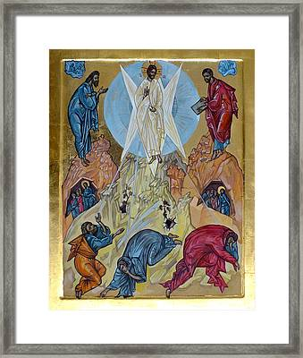 Transfiguration Framed Print by Filip Mihail