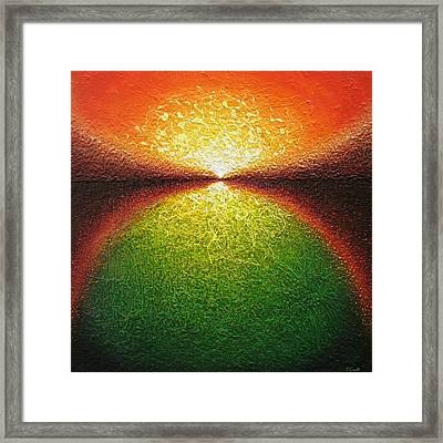 Transfiguration Framed Print by Jaison Cianelli