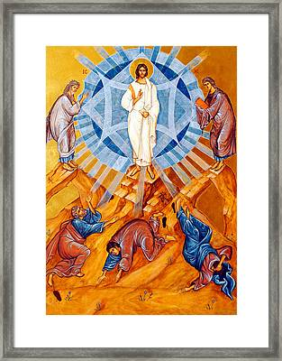 Transfiguration Of Christ Framed Print