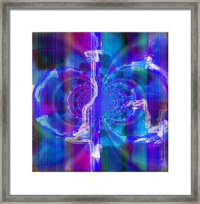 Transformation And Impression Framed Print by Fania Simon