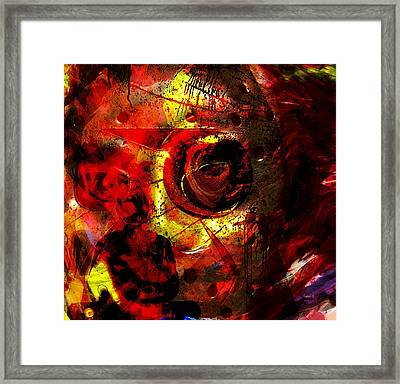 Transformation Framed Print by Fania Simon