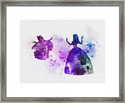 Transformation Framed Print by Rebecca Jenkins