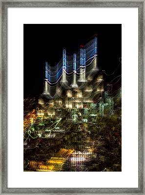 Transformer Framed Print by Az Jackson